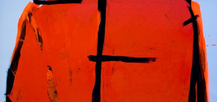 Painting 2008 (1) 220x100cm Damien DIAZ-DIAZ