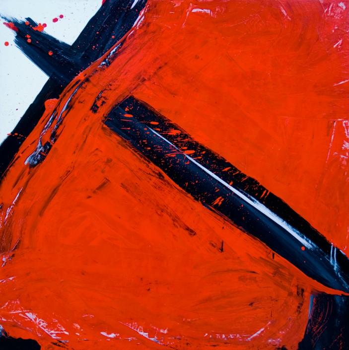 Painting 2008 (2) 100x100cm Damien DIAZ-DIAZ