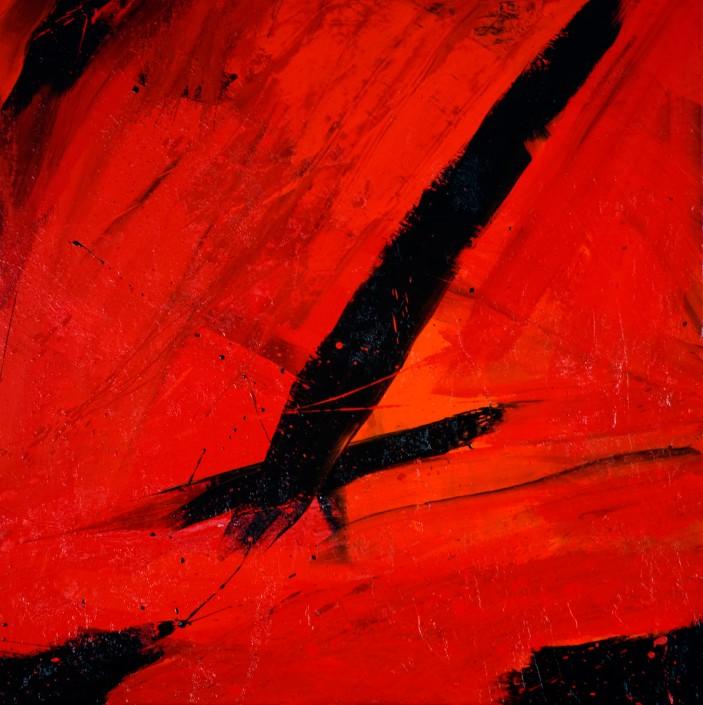 Painting 2008 (4) 100x100cm Damien DIAZ-DIAZ