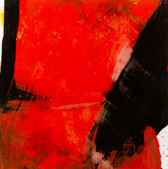 Painting 2010 (2) 100x100cm Damien DIAZ-DIAZ