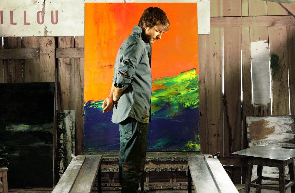 Damien DIAZ-DIAZ abstract paintings