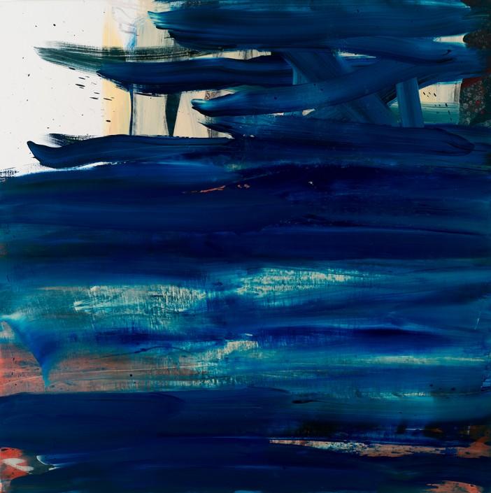 Painting 2012 (2) 140x140cm Damien DIAZ-DIAZ