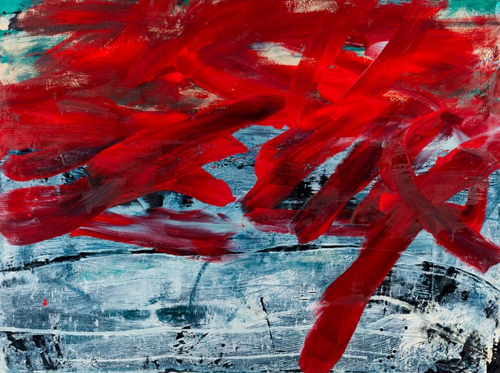 Painting 2012 (4) 200x150cm Damien DIAZ-DIAZ