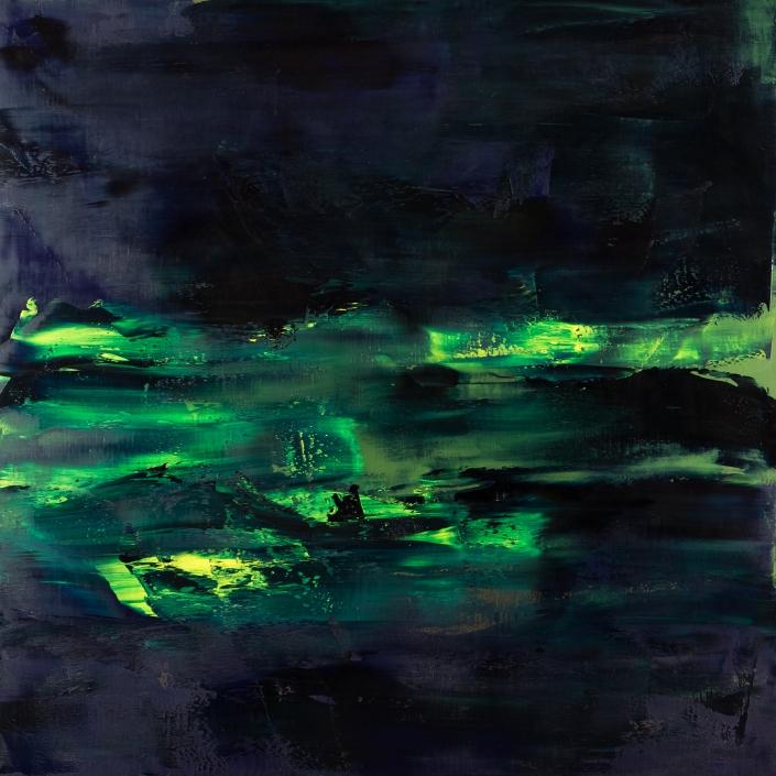 Lapis 2017 (23) 110x110cm Damien DIAZ-DIAZ